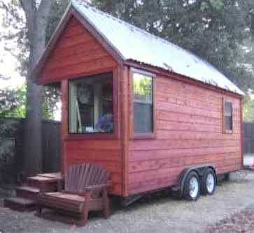 Teen Builder of Tiny House Finishes Dorm on Wheels