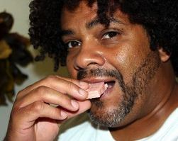 eating sweets Kengi Carr photo