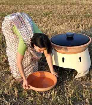 solar oven water-Gabriele Diamanti