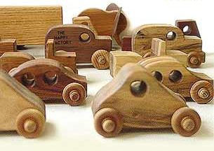 wooden cars toys by Happy Factory