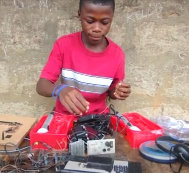 African engineering prodigy Kelvin Doe-by-AdamCohn