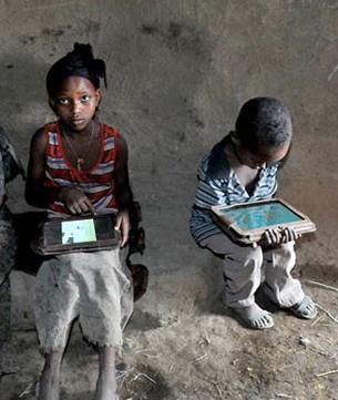 Computers for Ethiopian kids OLPC