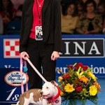 Dog Show honoree Vivian Peyton-therapy dog
