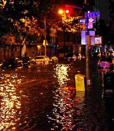 Flooding in lower Manhattan - David Shankbone
