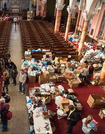 Hurricane relief Occupy Sandy-SoclaPants Photo