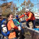 Relief efforts NYC marathoners