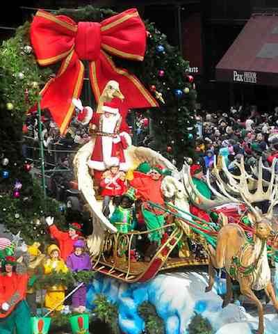 Santa Macys Parade - by tweber1