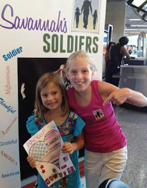 Savannahs Soldiers letter campaign