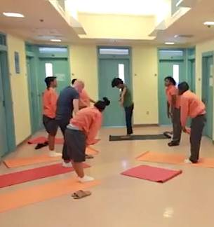Yoga class in detention center-UrbanYogisVideo