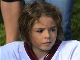 football peewee star Sam Gordon