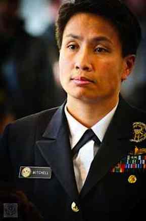 Naval commander Kimberly Mitchell