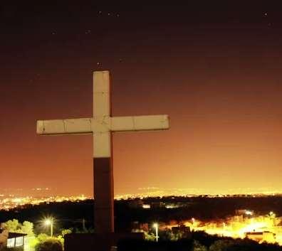 Cross on hill-Ibillin-MEEI