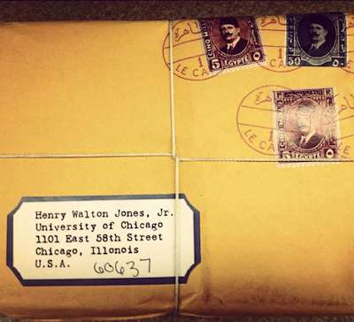 Mail for Indiana Jones