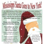 Mississippi Santa goes to NYC