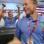 NASA Scientists celebrate -NASA