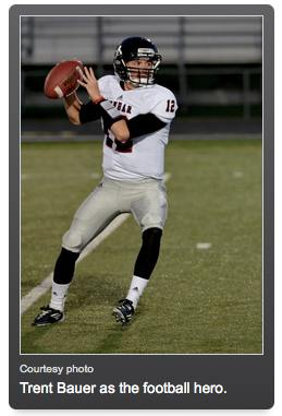 football star HS - Trent Bauer