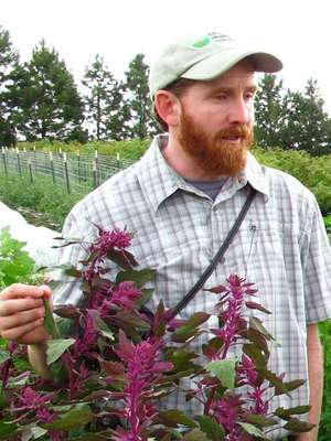quinoa planter Kevin Murphy (courtesy photo)