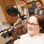 robotic arm moves for paralyzed woman-UPMC