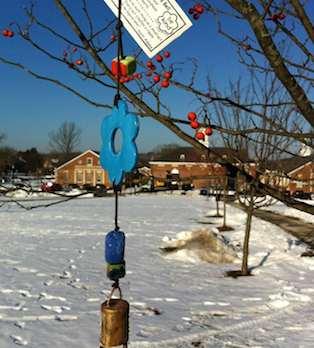 Ben's Bells now hang in Newtown, CT