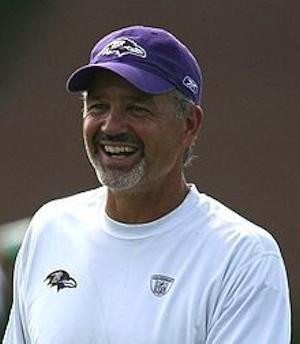 Chuck Pagano Ravens coach-Keith Allison-CC