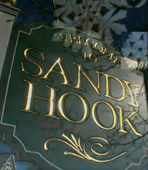 Sandy Hook school sign
