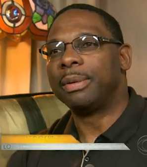 Tony Tolbert gives house for year - CBS video