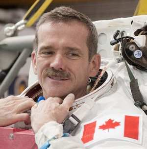Canadian astronaut, Chris Hadfield Twitter photo