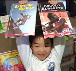 books for Superstorm sandy schools NBCvid
