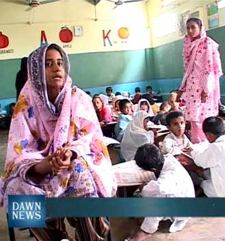 school started by Pakistani teacher