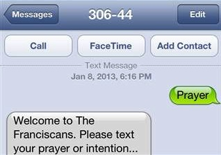 text a prayer-screen