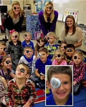 Class-with-eye-patches