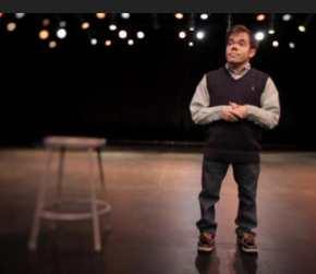 Matthew Jeffers on stage - ESPN video