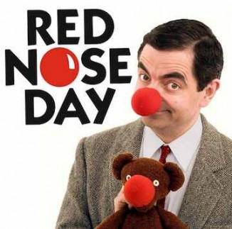 Red Nose Day Mr Bean