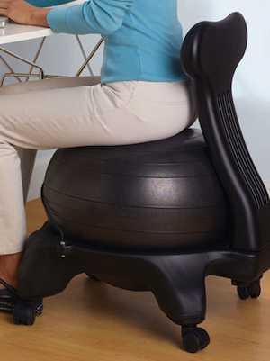 balance ball chair-Gaiamdotcom