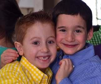 best friends 1st graders Dylan helps find cure ChocolateBar