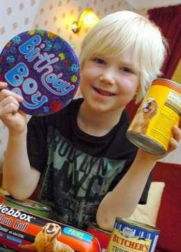 dog food gifts for Birthday boy
