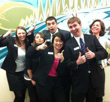 Umpqua Bank employees -Company Facebook photo