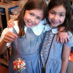 origami sisters create for charity