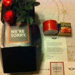spam apology from Mini Cooper