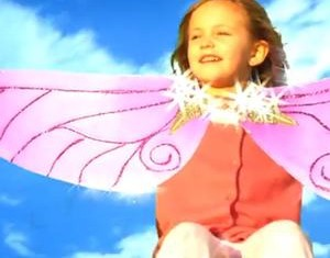 Angelight Films winged girl