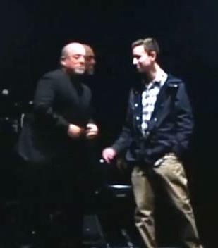 Billy Joel with college fan-darkYouTube