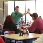 High-five at Tims Place-AOLvid