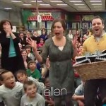 Surprised teachers get 50K from Ellen Show