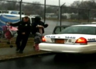 cop good deed FB photo blurry