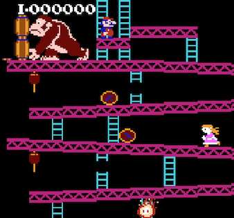 donkey kong hacked for daughter