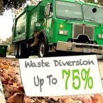 garbage truck Waste Diversion up 75percent-CRIvid
