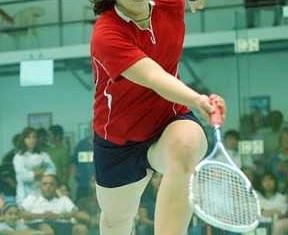 squash player Maria Toorpakai - courtesy of website