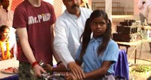 Bikes for poor Indian kids