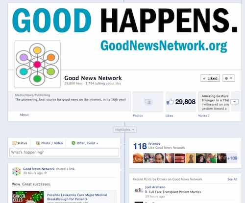 Facebook Page screenshot-29K