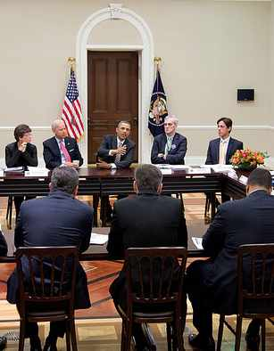 Obama with governors - White House Photo